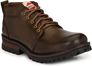 Andrew Scott Men's Synthetic Leather Boots