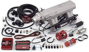 Edelbrock 3545 Pro-Flo XT Electronic Fuel Injection Kit Incl. Manifold/Throttle Body/Fuel Rails/44 lb. Fuel Injectors/ECU/Calibration Module Chrysler 413-440 Pro-Flo XT Electronic Fuel Injection Kit