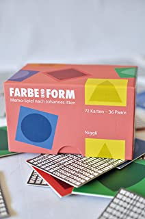 Color and Form: Memo Game Based on Johannes Itten