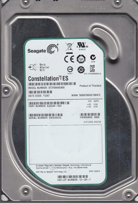 Dell ST31000424SS 1TB 7.2K SAS 3.5 6G ST31000424SS