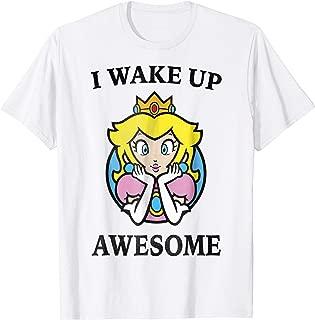 Nintendo Super Mario Princess Peach Awesome T-Shirt