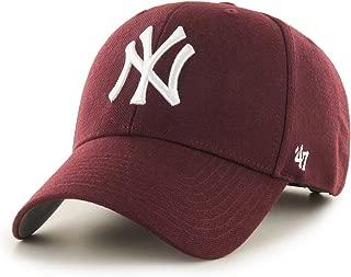 '47 Brand New York Yankees MVP Cap - Dark Maroon