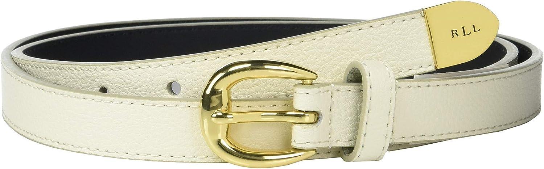 LAUREN Ralph Lauren Skinny Max 42% OFF Belt Bennington Our shop OFFers the best service XL Vanilla