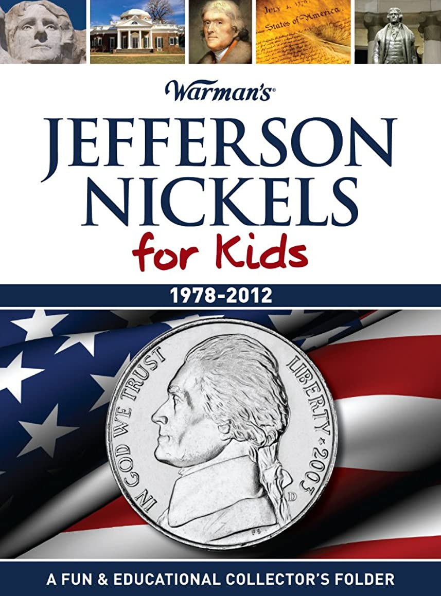 Jefferson Nickels for Kids: 1978-2012 Collector's Jefferson Nickel Folder