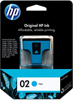 HP 02 | Ink Cartridge | Cyan | C8771WN