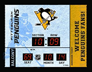 Evergreen NHL Pittsburgh Penguins 14X19 Scoreboard, Team Colors, One Size