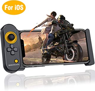 Mobile Controller for iOS iPhone, BEBONCOOL PUBG Mobile Game Controller for 5.5-7.9 Inch iOS iPhone, Wireless Mobile Controller Remote PUBG Gamepad for Bluetooth iOS FPS Games