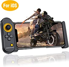BEBONCOOL Mobile Controller for iOS iPhone, PUBG Mobile Game Controller for 5.5-7.9 Inch iOS iPhone, Wireless Mobile Controller Remote PUBG Gamepad for Bluetooth iOS FPS Games