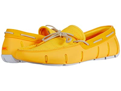 SWIMS Knit Lace Loafer (Gold Fusion/Glacier Gray) Men