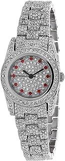 ساعة كريستيان فان سانت للنساء بسوار من الستانلس ستيل، فضي، 13 كاجوال موديل CV0010