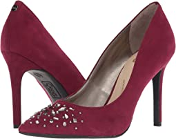 Deep Berry Microsuede