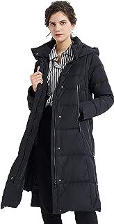 comprar comparacion Orolay Mujer Abrigo Largo Cálido Chaqueta de Invierno con Capucha