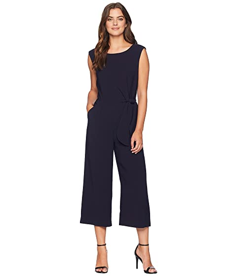 57219d2a4664 Tahari by ASL Cropped Side-Tie Jumpsuit at Zappos.com
