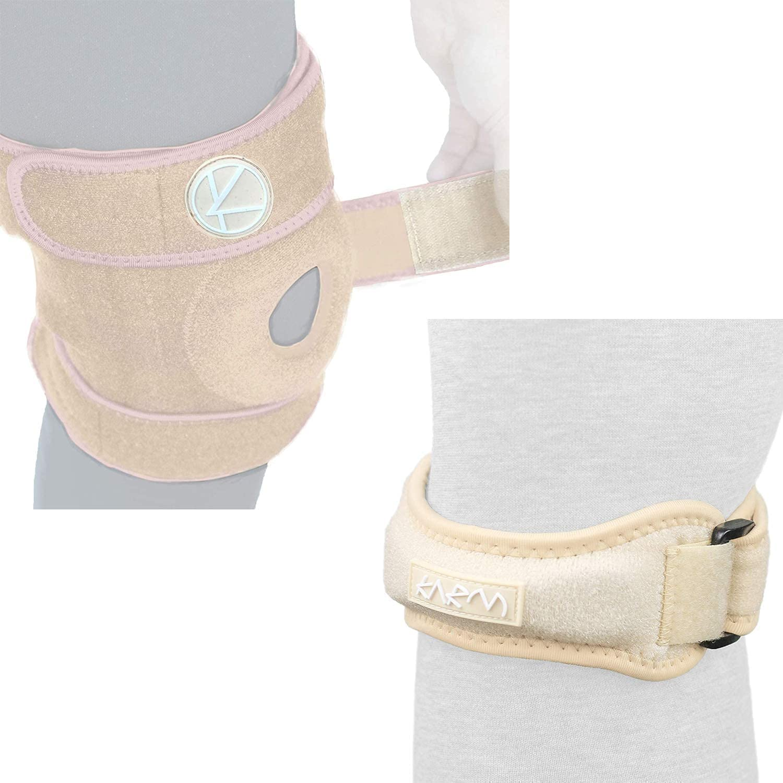 Plus Size Max 55% OFF Knee Support Bundle: Cheap SALE Start Brace Adjustable 1