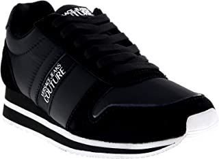 Couture STELLA Black/White Panel Sneakers for Womens