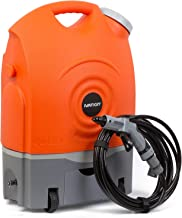 Ivation Multipurpose Portable Spray Washer w/Water Tank – Runs on Built-in..