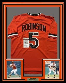 Framed Autographed/Signed Brooks Robinson