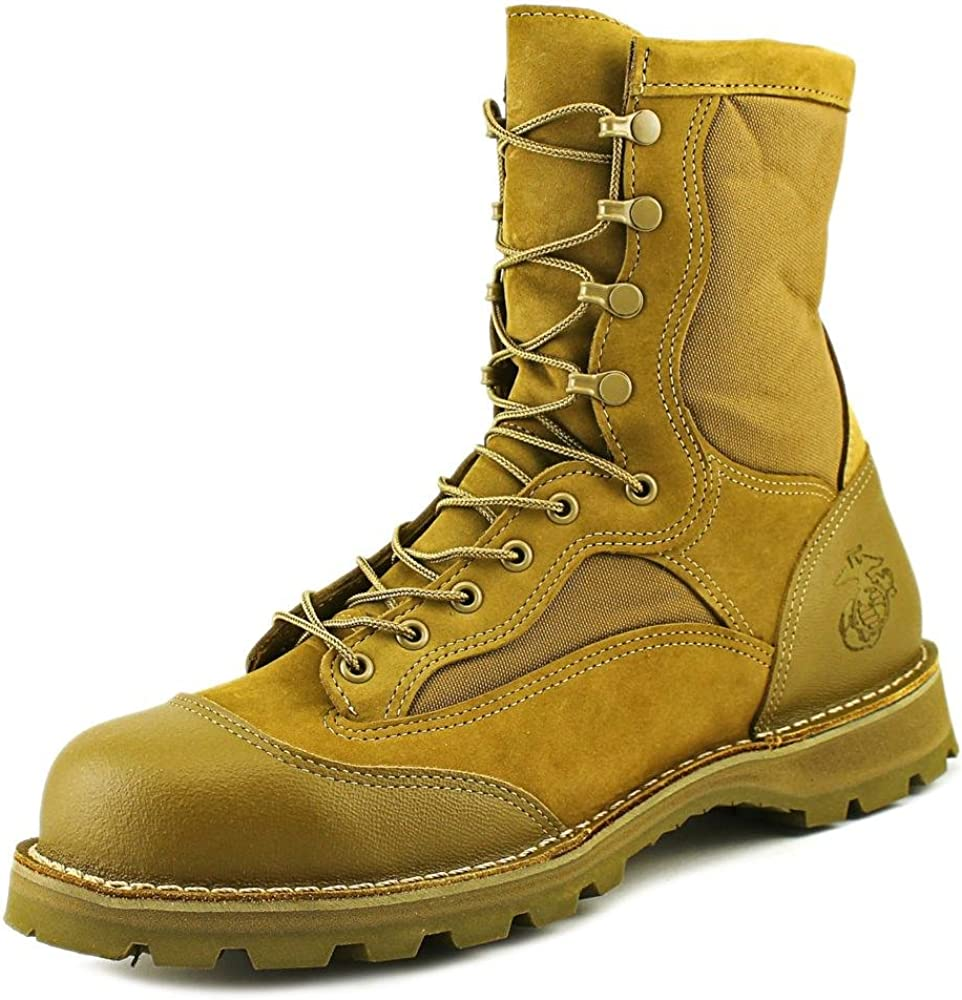 USMC Rat 8'' Hot Steel Toe Boot