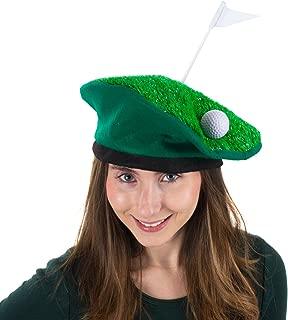 Tigerdoe Golf Party Hat - Golfer Costume - Novelty Costume Hat - Golf Party Supplies