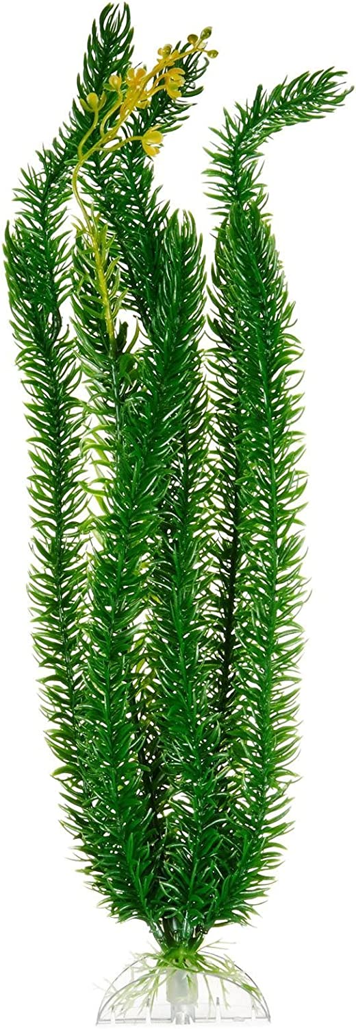 Deep bluee Professional AquaFlora Plastic Plant  Club Moss  15 inches by Deep bluee Professional
