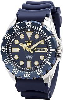 Seiko 5sports SRP605J2 - Reloj automático para hombre (acero inoxidable, 100 m, fabricado en Japón)