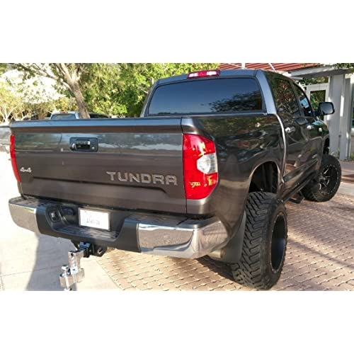BDTrims | Tailgate Plastic Letters Inserts fits 2014-2019 TUNDRA Models (Chrome)