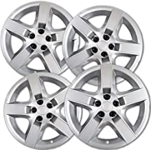 17 inch Hubcaps Best for 2008-2011 Chevrolet Malibu - (Set of 4) Wheel Covers 17in Hub Caps Rim Cover - Car Accessories for 17 inch Wheels - Snap On Hubcap, Auto Tire Replacement Exterior Cap)