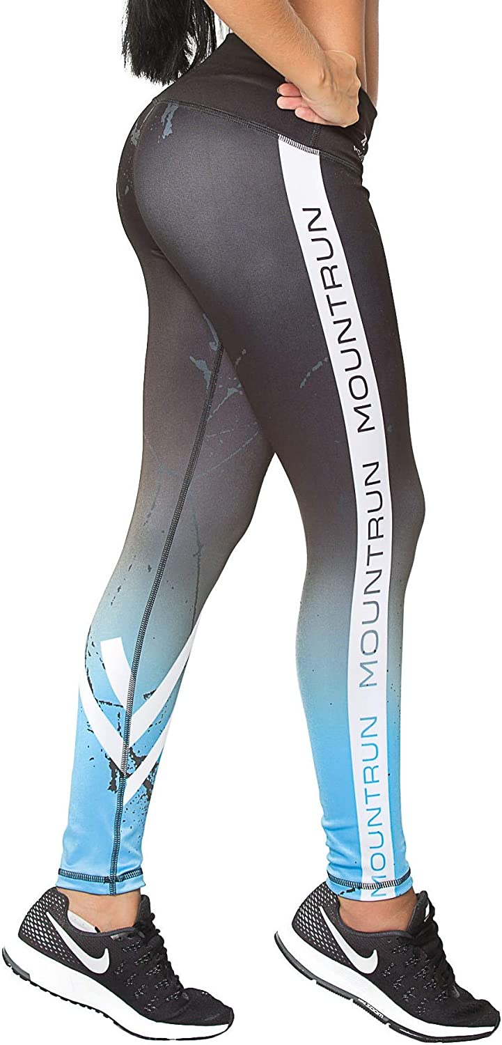 Active Colombian Women High Waisted High Compression Workout Shaping Leggings (Lagos)