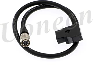 Uonecn Power Cable for SmallHD AC7 OLED DP7 Monitor D-tap to Hirose 4 pin Female 45cm