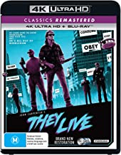 They Live (John Carpenter'S) [Classics Remastered] (4K Ultra HD + Blu-ray)