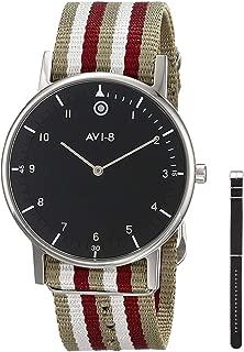 AVI-8 Men's AV-4023-02 FlyBoy Analog Japanese-Quartz Two Tone Watch