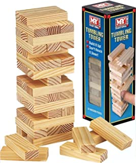 Tumbling Tower - Traditional Wooden Blocks game