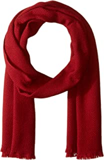 Hugo Boss Men's Canno Knitted Wool Scarf