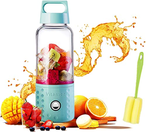Portable Juice Blenders for Smoothie USB Rechargeable Mini Juicer Machines Extractor Household Fruit Mixer Small Cup ...