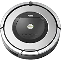 iRobot Roomba 860 Robotic Vacuum with Virtual Wall Barrier and Scheduling Feature - Refurbished