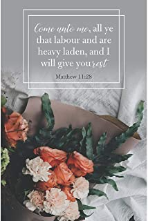 B&H Publishing Group Bulletin-I Will Give Your Rest (Matthew 11:28) (Pack of 100) (Jan 2020)