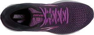 Brooks Women's Revel 2, Black/Purple/Grey