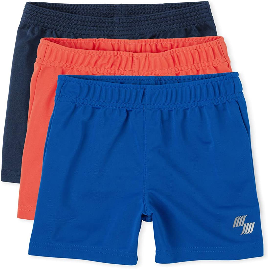 The Children's Place Toddler Boys Basketball Shorts 3-Pack