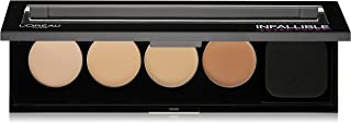 L'Oreal Cosmetics Infallible Total Cover Concealing and Contour Kit 0.17 oz