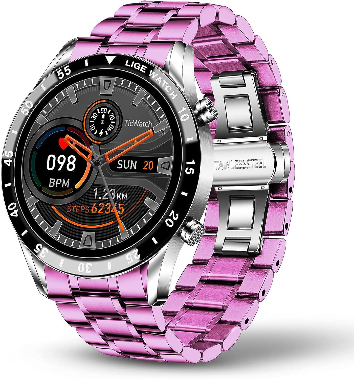 LIGE Men's Spasm price Watches Elegant Mil Strap Waterproof Branded goods Silicone