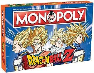 Monopoly Dragon Ball Z. Juego de Mesa - Versión en español