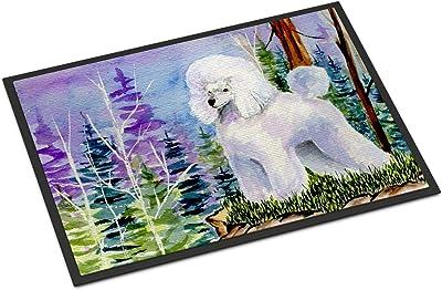 """Caroline's Treasures Poodle Indoor Outdoor Doormat, 18"""" x 27"""", Multicolor"""