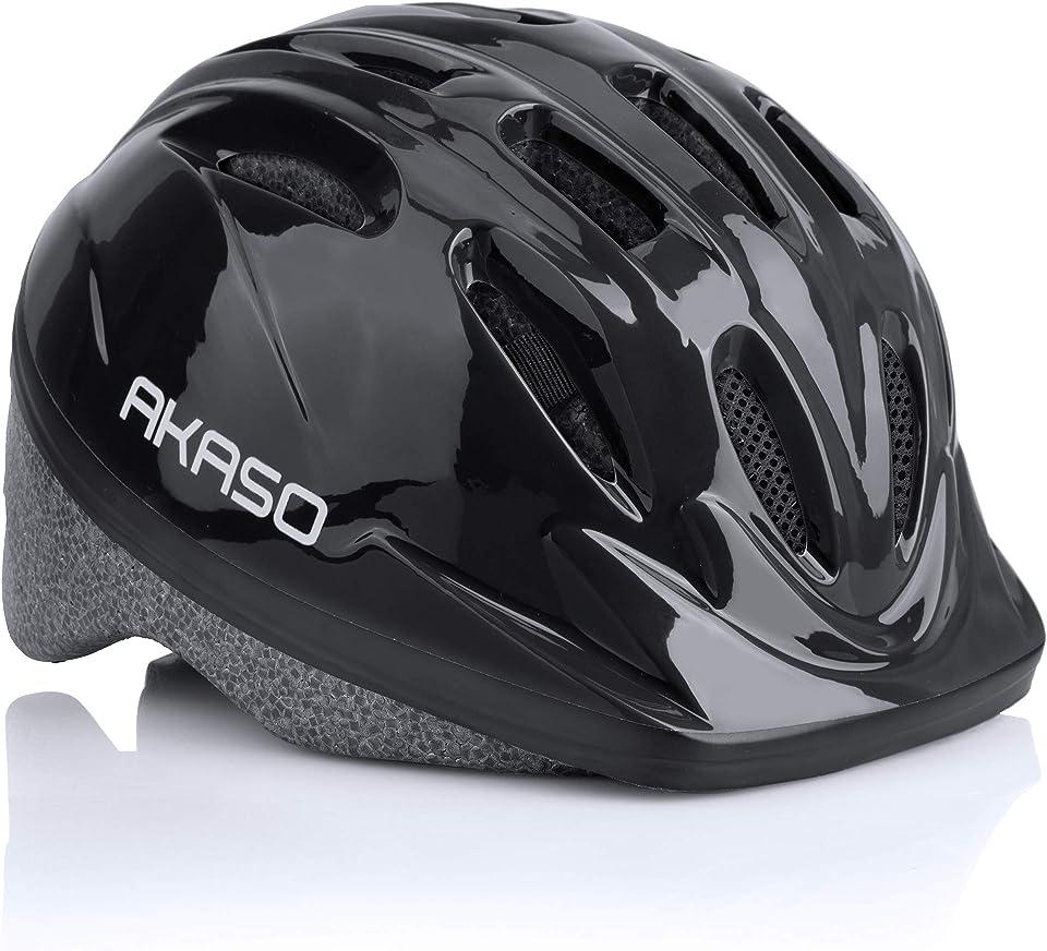 AKASO Kids Helmet, Adjustable Toddler Bike Helmets for Age 2-12 Boys Girls, Protective Helmets for Cycle Scooter Roller Skateboard-K1