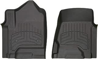 WeatherTech Custom 3D FloorMats - 446071iM - 1st Row (Black)