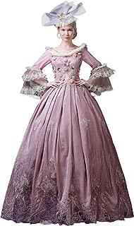 Women's 1800s Retro Rococo Gothic Victorian Dress Costume