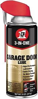 3-IN-ONE Professional Garage Door Lubricant with SMART STRAWSPRAYS 2 WAYS 11 OZ [6-Pack]