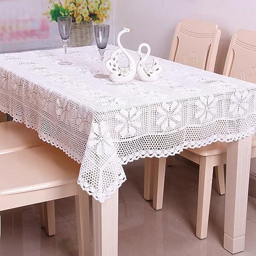 DE Baumwoll-tisch tuch haushalt rechteckige tischtuch,living zimmer tea tisch cloth europ che einfachheit-A 150x220cm(59x87inch)