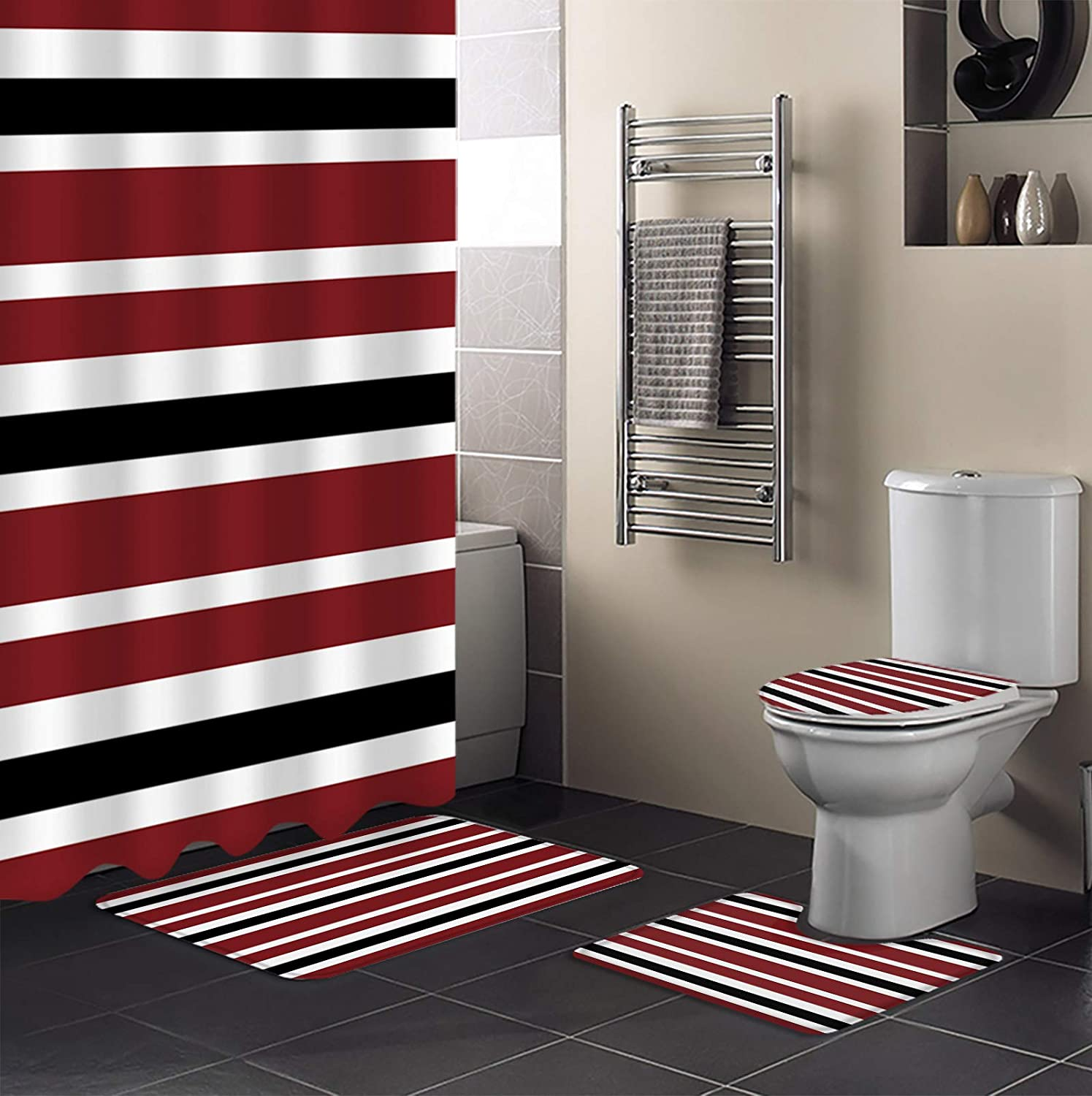 4 Piece Shower Curtain gift OFFicial site Sets 72