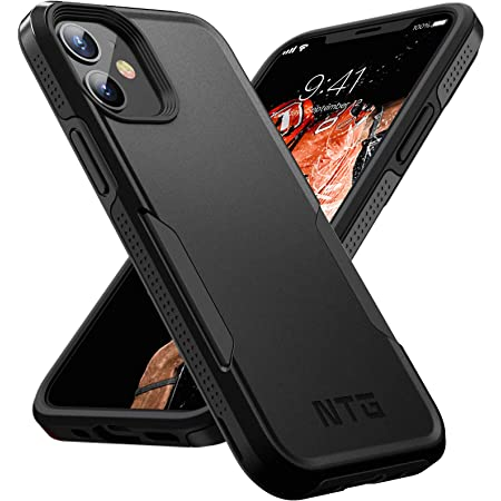 NTG [1st Generation] Designed for iPhone 11 Case, Heavy-Duty Tough Rugged Lightweight Slim Shockproof Protective Case for iPhone 11 6.1 Inch, Black