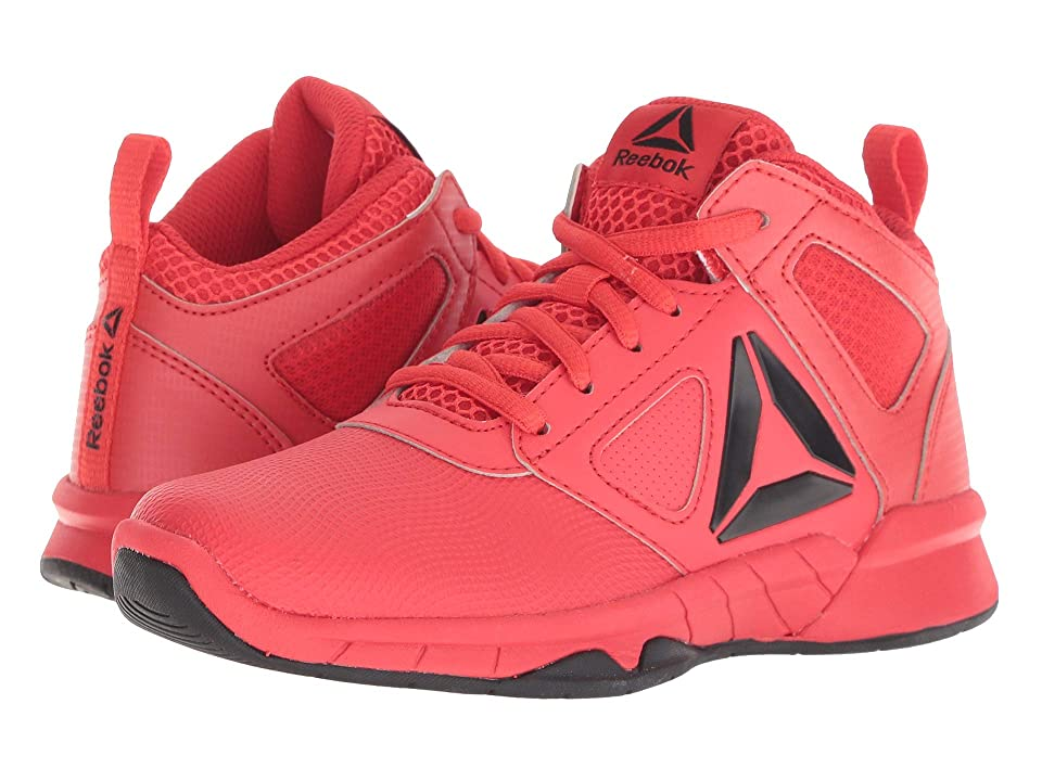 Reebok Kids Royal Dash N Drill Basketball (Little Kid/Big Kid) (Red/Black) Boys Shoes